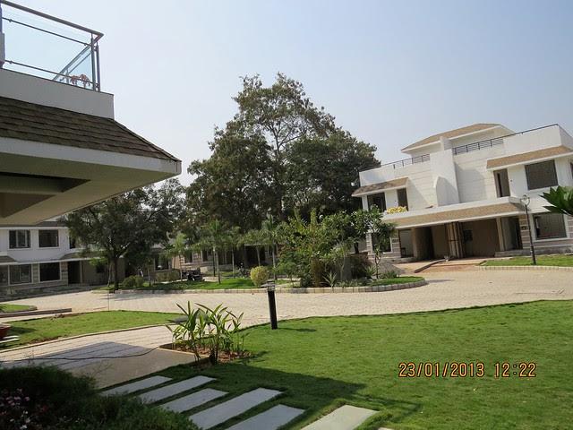 Porch & Gated Community - 3 BHK Bungalows at Green City Handewadi Road Hadapsar Pune 411028