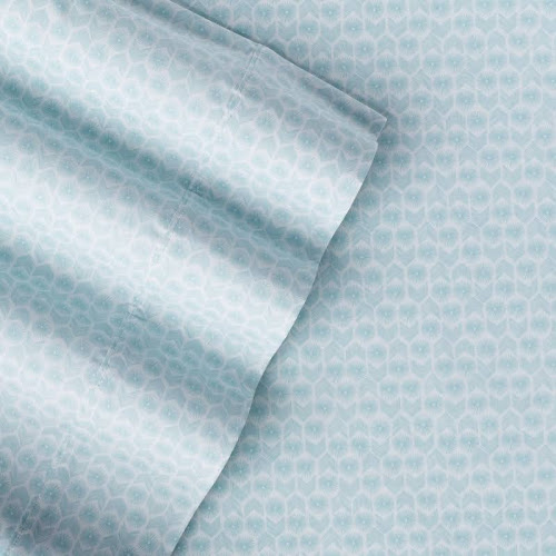 The Big One Easy Care 275 Thread Count Sheet Set, Brt Blue Twin XL