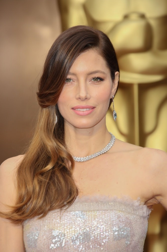 Jessica Biel Celebrity Hairstyles For Spring