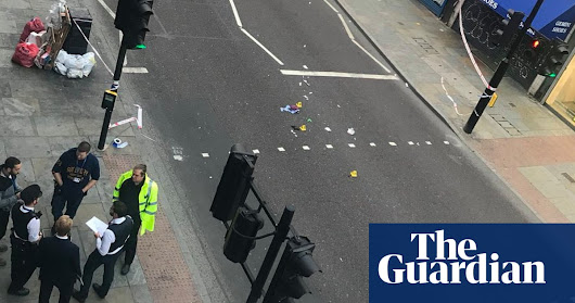 Woman dies after being hit by electric bike in London | UK news | The Guardian