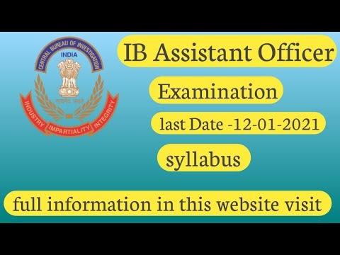 IB Assistant Officer Grade 2