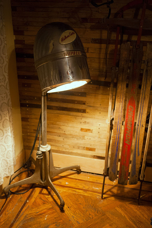 Turn a Vintage Salon Hair Dryer into a Lamp. - Do ...