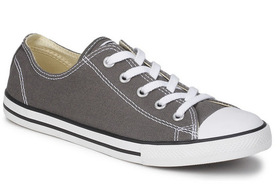 Anthracite Grey Converse Dainty