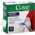 Curad Hold Tite Bandage, Tubular Stretch, Large