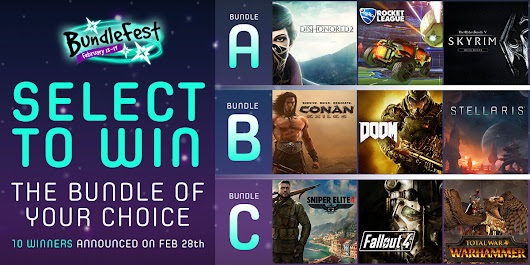 Select a Bundle Contest - BundleFest - Feb 17