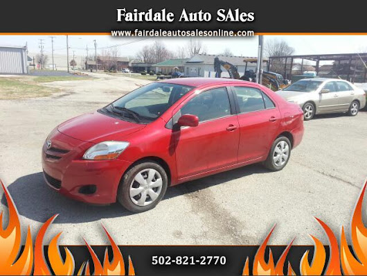 Used 2008 Toyota Yaris for Sale in Louisville KY 40214 Fairdale Auto Sales