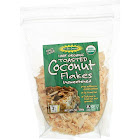 Let's Do Organic Toasted Organic Coconut Flakes, Unsweetened - 7 oz pouch