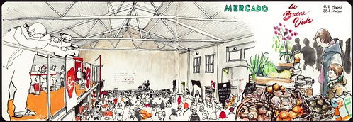 Mercado La buena Vida by aidibus