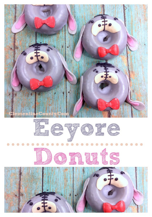 Eeyore Donuts — a Winnie the Pooh Recipe | Clementine County