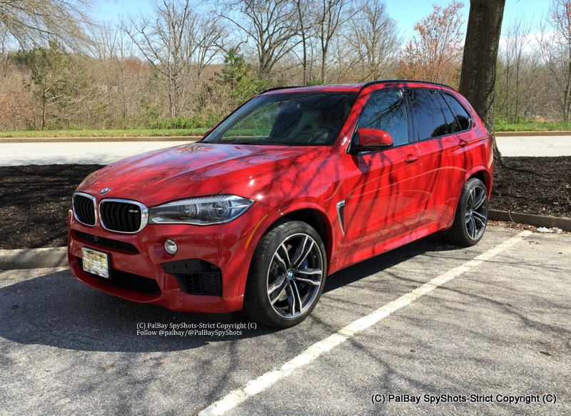 2015 BMW X5 M looks great in Melbourne Red