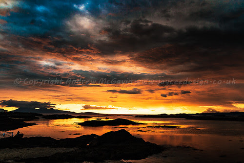 Fire in the sky by amcgdesigns