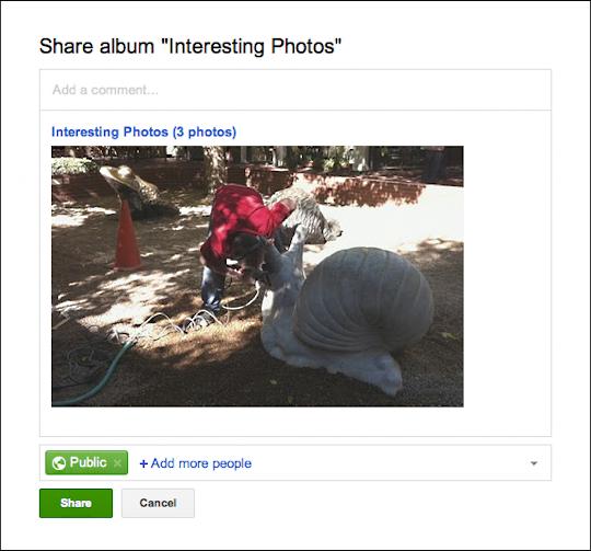 picasa google photos upload embed 4