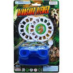 DDI 2339732 Dinosaur Viewer with 2 Film Discs Assorted Color - Case of 48