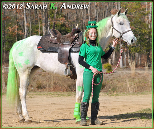 The Wearin' o' the Green at Handy Acres