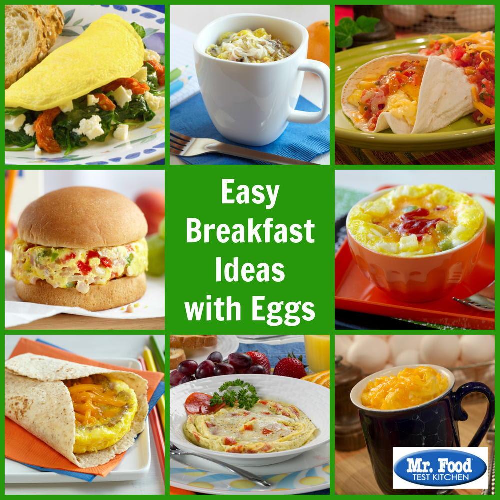 Easy Breakfast Ideas with Eggs | MrFood.com