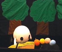 学生さん手作りの人形たち