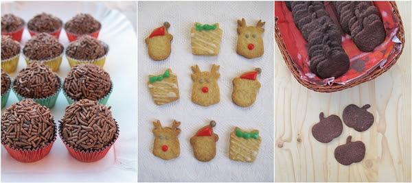 Idee per Natale - Biscotti al cacao e segale