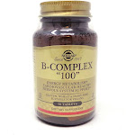 B-Complex 100 Tablets By Solgar - 50 Count