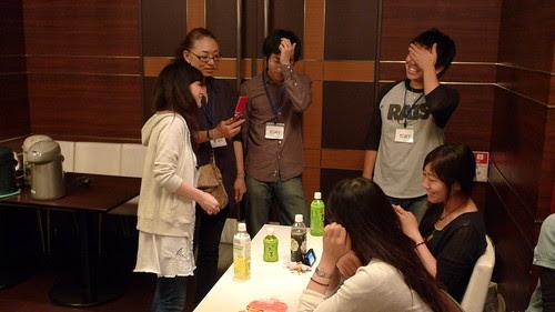 Kobayashi sensei shows her phone