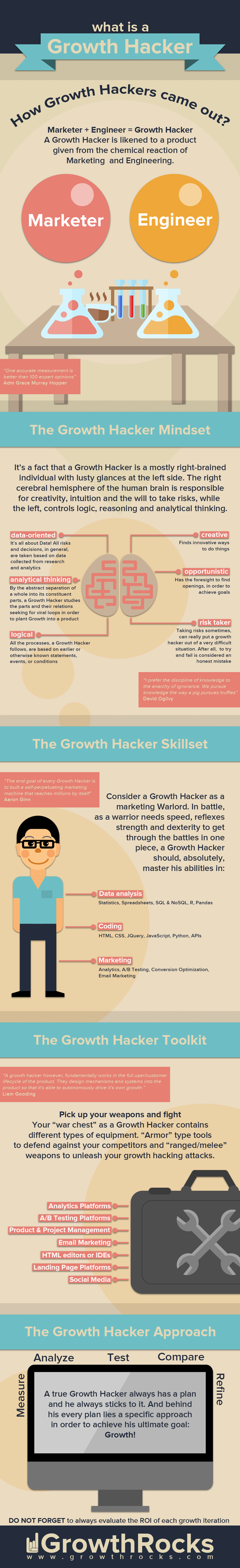 Infographic: What Is A Growth Hacker?