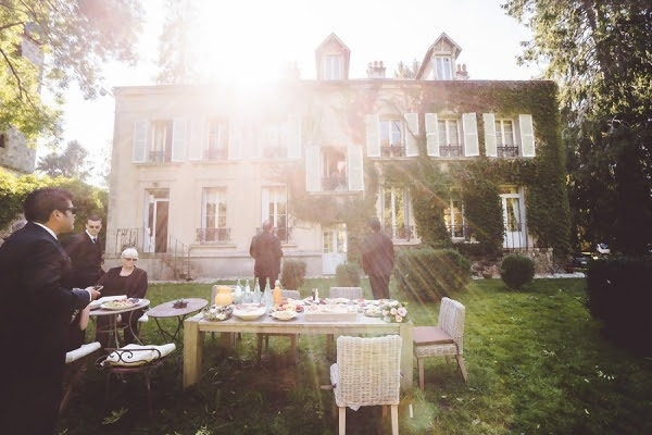 Quintessential French Garden Wedding In Paris - French ...