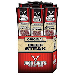 Jack Links Original Beef Steak - Snack - 1 oz - pack of 12