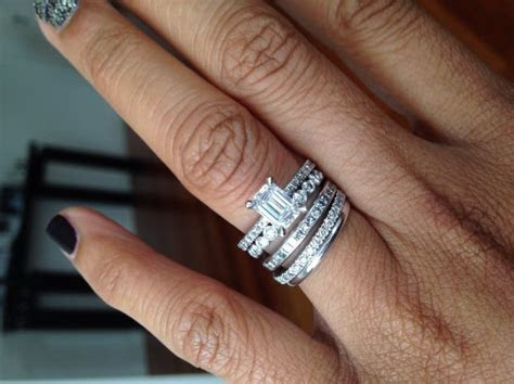 Best 10  Stacked wedding bands ideas on Pinterest