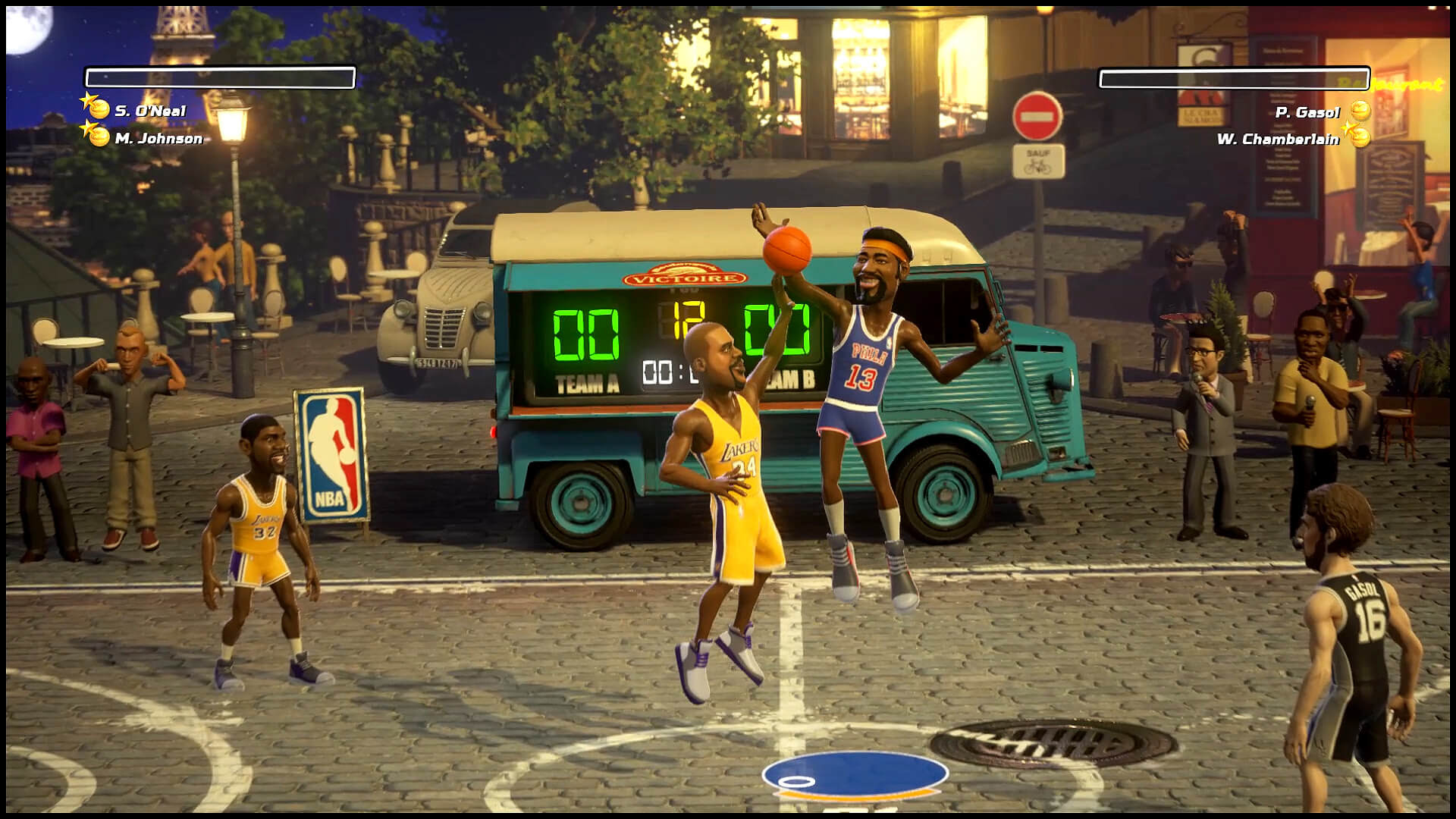 NBA Playgrounds' first major patch fundamentally changes how shooting works screenshot