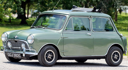 Paul McCartney's 1965 Mini Cooper S DeVille Goes Under The Hammer - eXtravaganzi