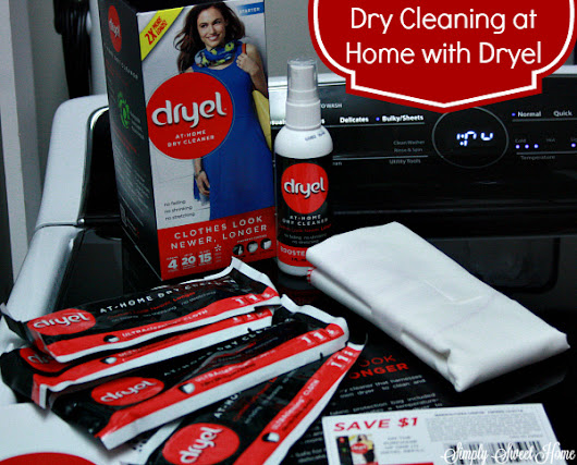 Dry Cleaning at Home with Dryel