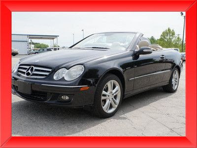 Purchase used 2007 mercedes clk 350 Convertible conv black ...