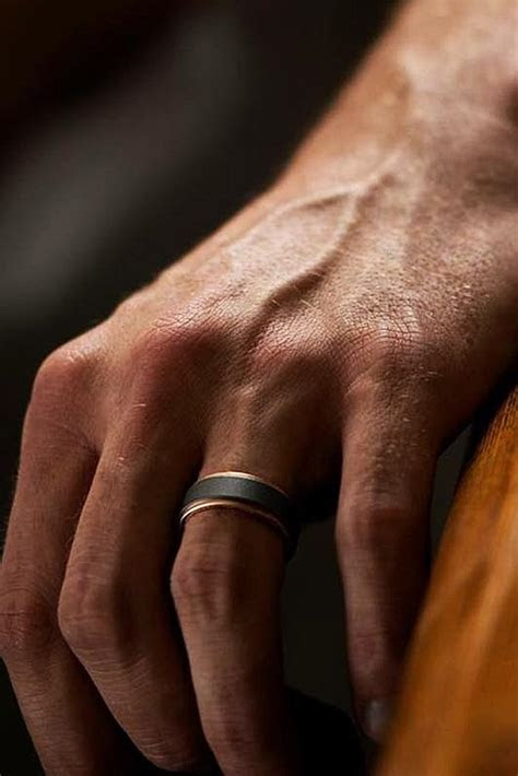 Men's Trend 2018: Tungsten Wedding Bands   Oh So Perfect