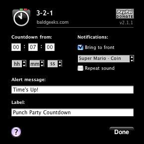 3-2-1(Dashboard timer widget for OS X)-2