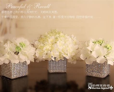 wedding centerpieces silver candle stick crystal candle