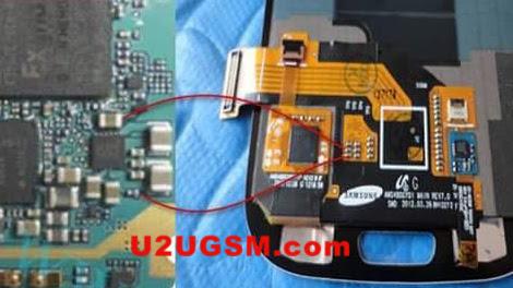 Samsung I9300 Galaxy S III Display Light Solution