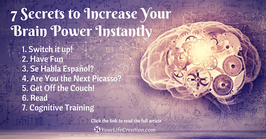 Turn Back Time: 7 Secrets to Increase Your Brain Power Instantly