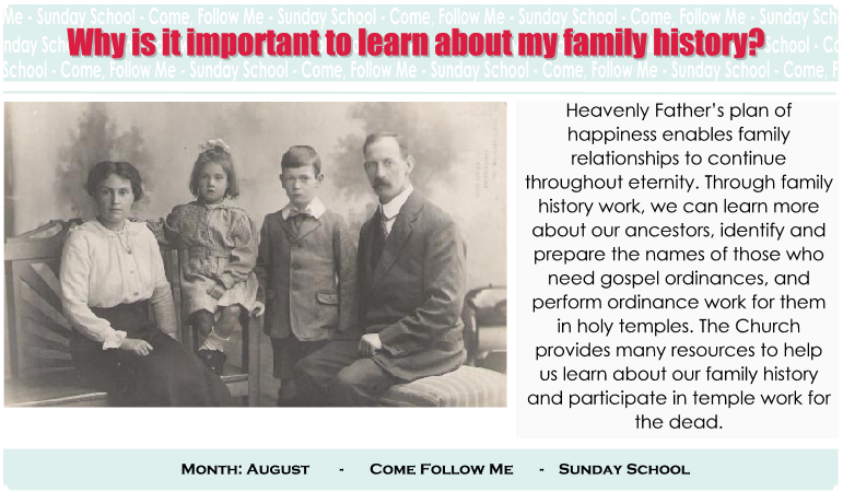Why Is It Important To Learn About My Family History