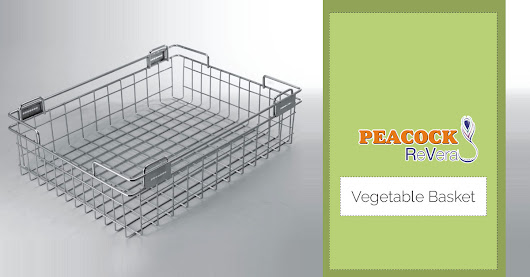 Buy Stainless Steel Kitchen Baskets Online For Your Modular Kitchen