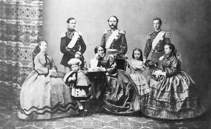 File:Christian IX of Denmark and family 1862.jpg