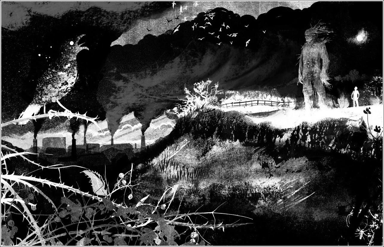 Image result for a monster calls illustrations
