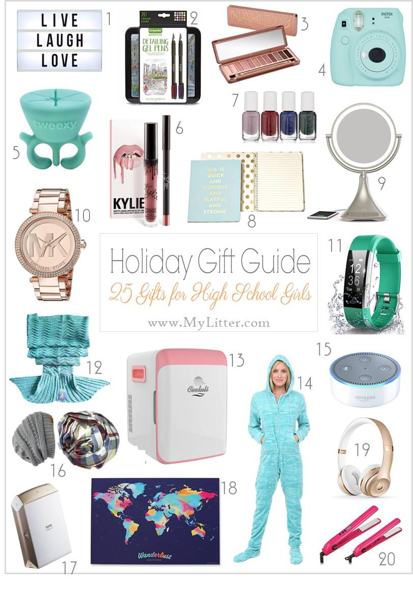 Gift Ideas for High School Girls - MyLitter - One Deal At A Time