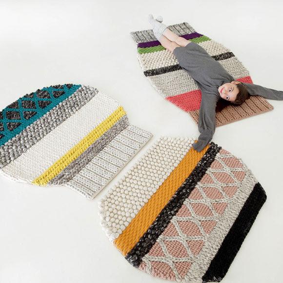 Olvídate de las alfombras rectangulares