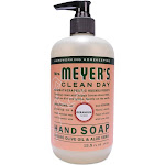 Mrs. Meyer's Clean Day Liquid Hand Soap, Geranium Scent - 12.5 oz bottle