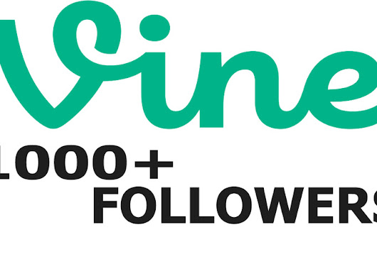 I will give you 1000 Vine Followers for your profile for $5