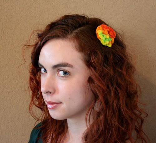 Tie Dye Hair Clip