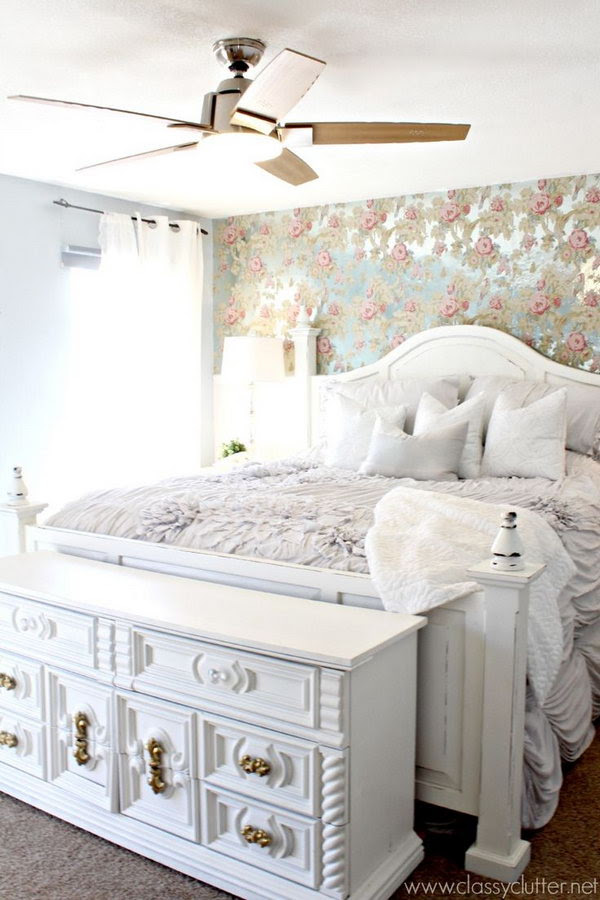 30 Shabby Chic Bedroom Ideas - Decor and Furniture for ...