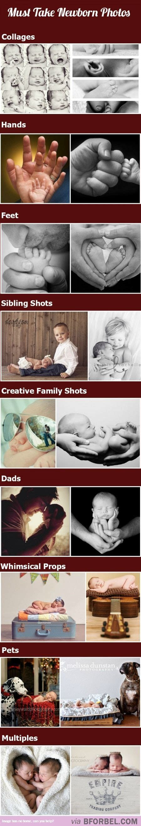 New Ideas For New Born Baby Photography : 9 Must Take