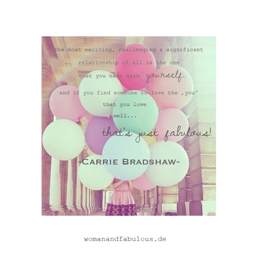 Relationship with yourself! - womanandfabulous.de