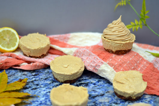 Mouthwatering Mini Vegan Pumpkin Spice Cheesecakes