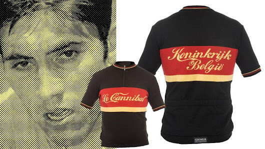 Eddy Merckx wool cycling jersey